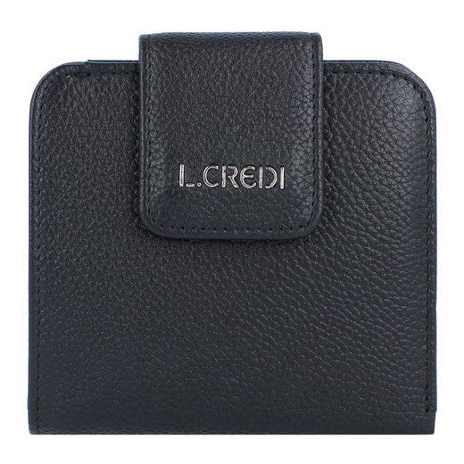L. CREDI Helen Geldbörse RFID Leder 10 cm