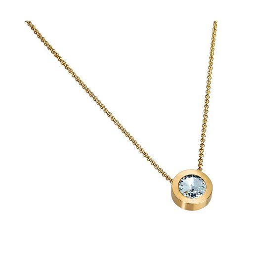 Heideman Kette mit Anhänger »Coma 16 gold«, mit Kristall von Swarovski