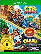 CTR Crash Team Racing Nitro Fueled + Crash Bandicoot N-Sane Trilogy Xbox One, Bild 1