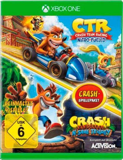 CTR Crash Team Racing Nitro Fueled + Crash Bandicoot N-Sane Trilogy Xbox One