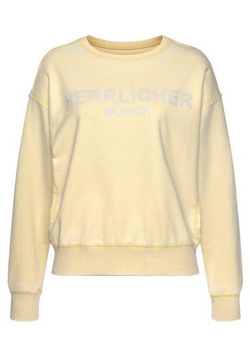 Herrlicher Sweatshirt »CARRIE« mit Herrlicher Statement-Print