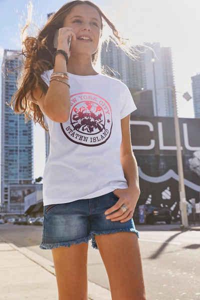 KIDSWORLD T-Shirt »New York« Druck im Farbverlauf