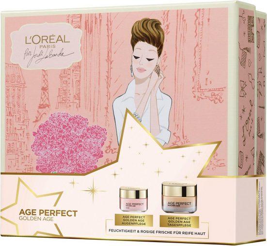 L'ORÉAL PARIS Geschenk-Set »Age Perfect Golden Age«, 2-tlg., für einen rosig-frischen Teint