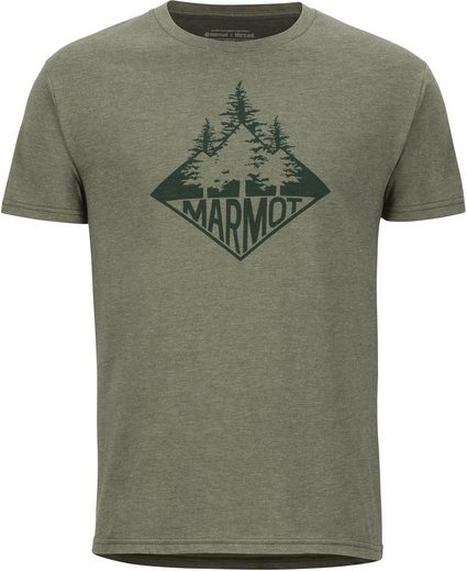 Marmot T-Shirt »Rising Forest Kurzarm T-Shirt Herren«