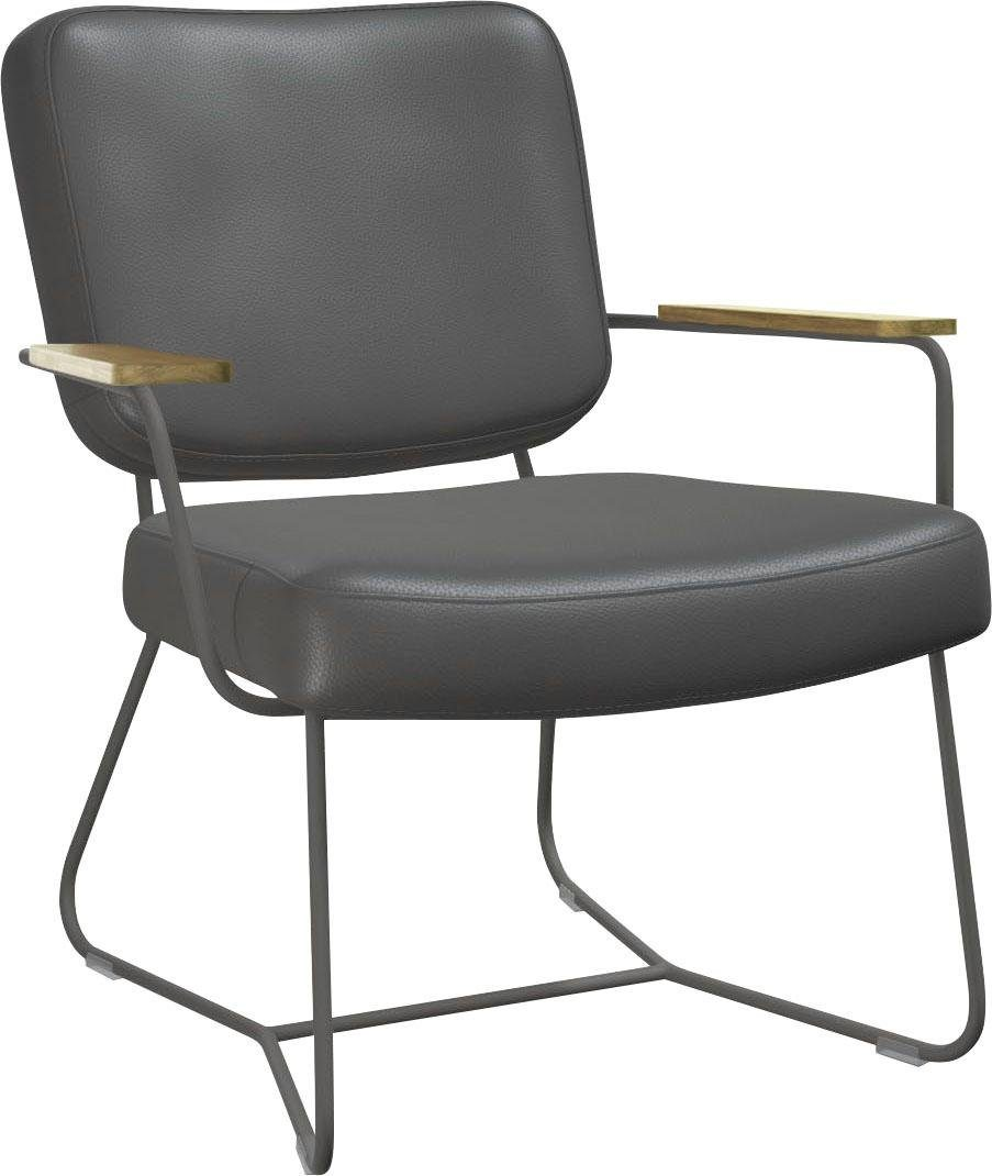 bert plantagie Sessel »KIKO PUS K 51«, Armehne in Eiche lackiert online kaufen   OTTO