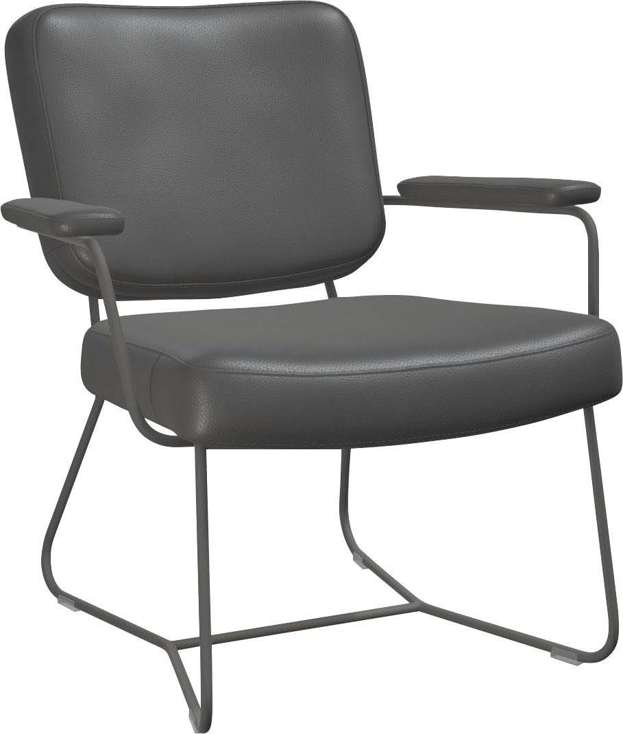 bert plantagie Sessel »KIKO PLUS K51«, Armehne mit Leder bezogen online kaufen   OTTO
