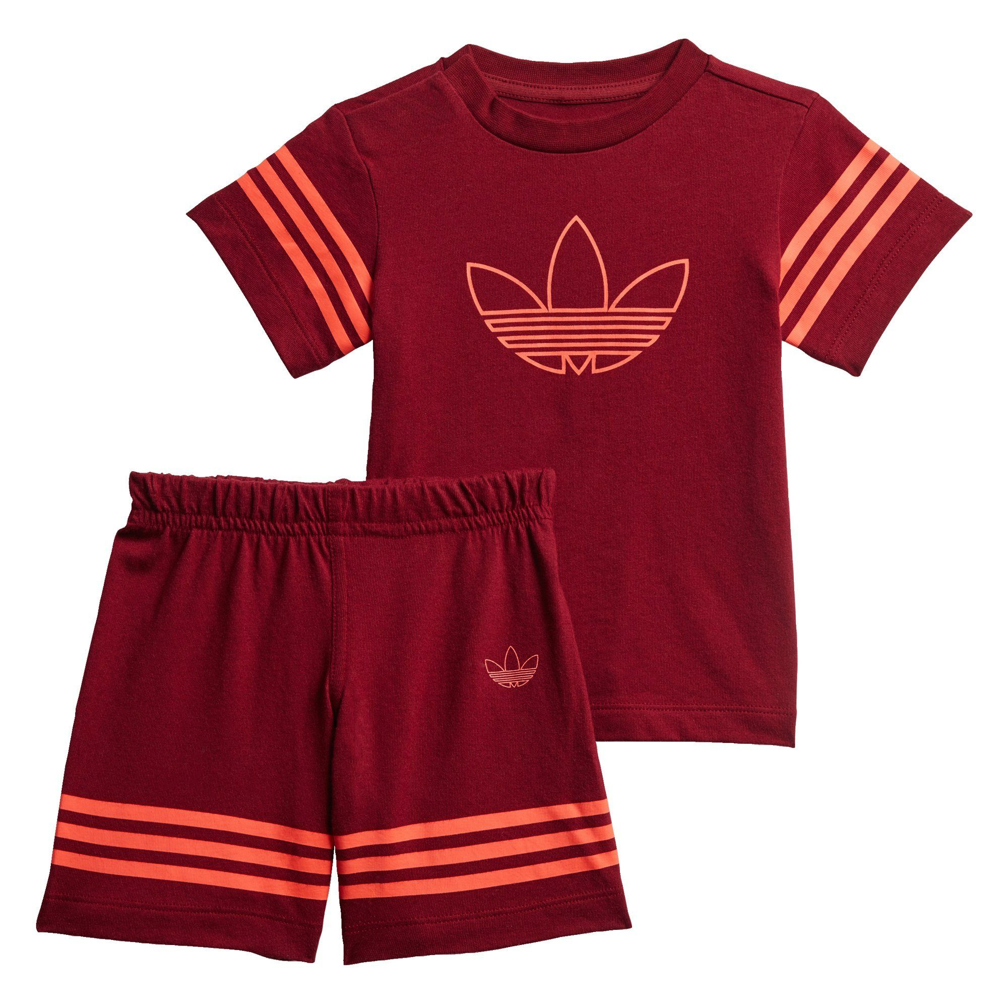 Unisex adidas Originals Trainingsanzug »Outline Shorts und T-Shirt Set«    04062054721108