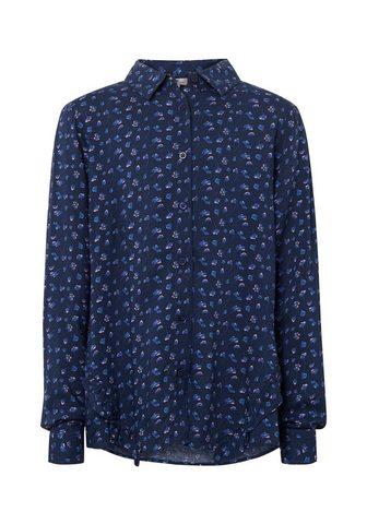 TOM TAILOR Блузка-футболка Блузка с с воланами vo...