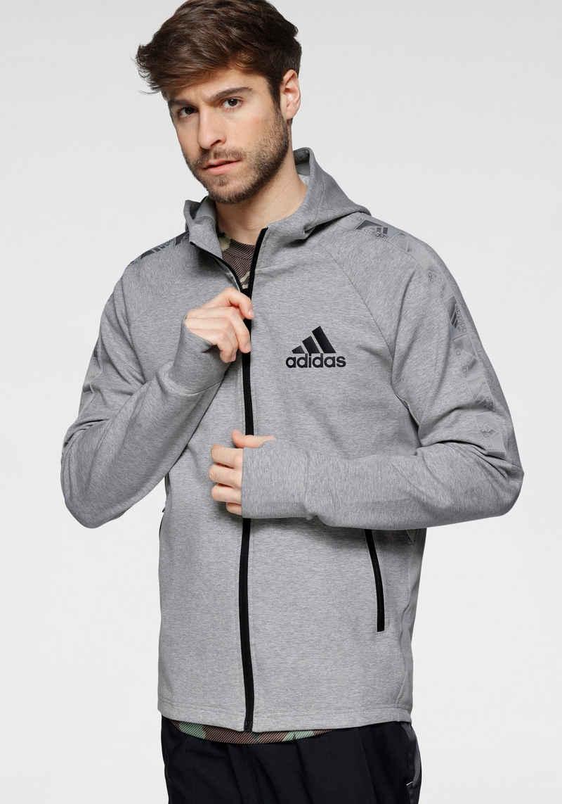 adidas Performance Kapuzensweatjacke »ADIDAS MEN DESIGNED 2 MOVE MOTION FULL-ZIP HOODIE«