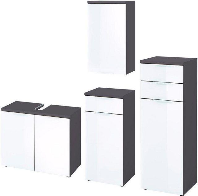 Badezimmer Sets - GERMANIA Badmöbel Set »Pescara«, (Set, 4 tlg)  - Onlineshop OTTO