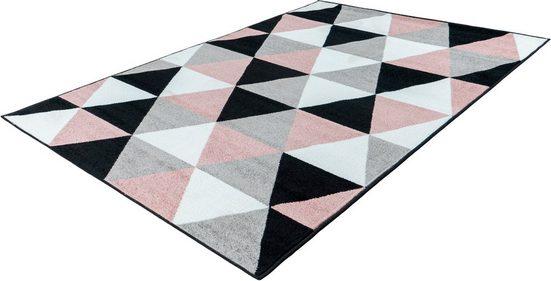 Teppich »Bravo 300«, LALEE, rechteckig, Höhe 12 mm, Kurzflor