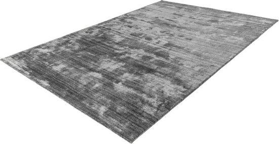 Wollteppich »Natura 900«, LALEE, rechteckig, Höhe 17 mm, reine Wolle, handgefertigter Wollteppich, Wohnzimmer