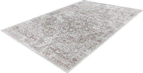 Teppich »Santos 402«, LALEE, rechteckig, Höhe 5 mm, Flachgewebe im Vintage Look