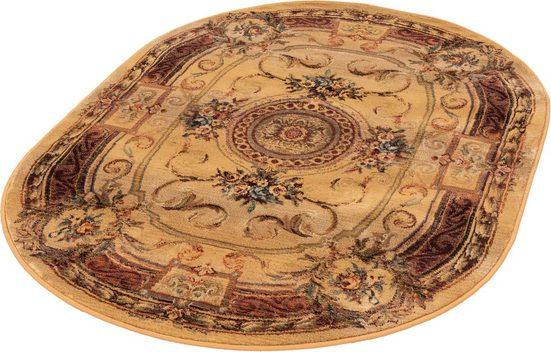 Orientteppich »Gabiro 856«, THEKO, oval, Höhe 12 mm, Melange-Effekt