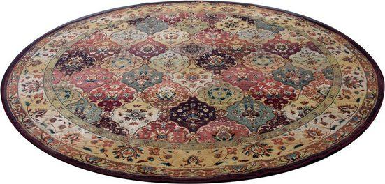 Orientteppich »Moritz«, THEKO, rund, Höhe 10 mm