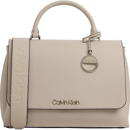 Calvin Klein Henkeltasche »SIDED TOP HANDLE«, mit goldfarbenen Details