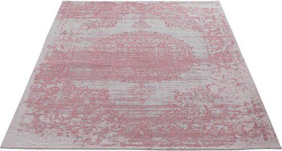 Teppich »Carina 6940«, Sehrazat, rechteckig, Höhe 2 mm, Flachgewebe mit Baumwolle, Wohnzimmer