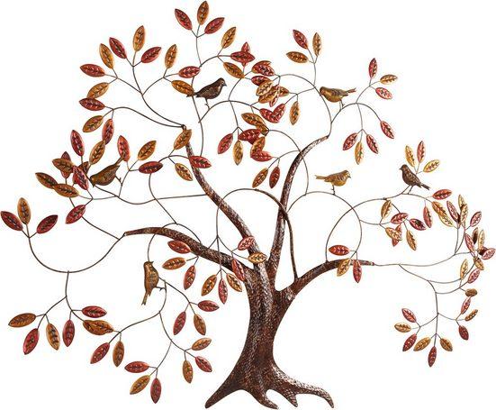 Home affaire Wanddekoobjekt »Baum«, aus Metall
