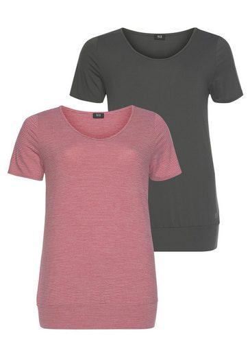 H.I.S T-Shirt (Spar-Set, 2er-Pack) Große Größen