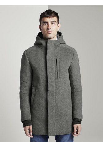 TOM TAILOR Vilnonis paltas Vilnonis paltas su Kap...