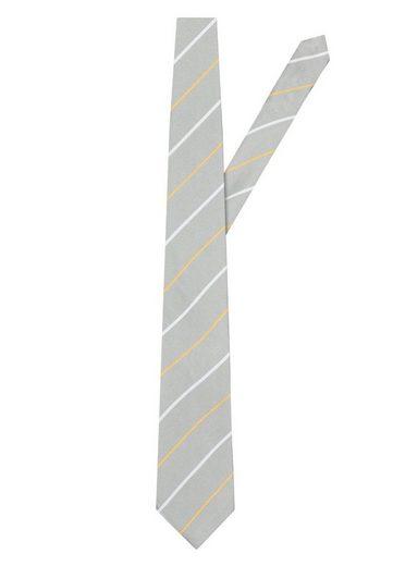 East Club London Krawatte mit tollem Streifenmuster