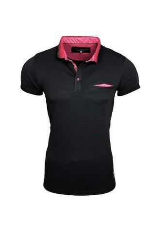 RUSTY NEAL Polo marškinėliai im schlichten Design...