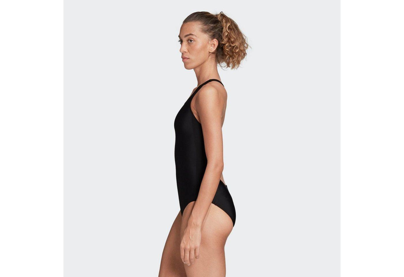 Bademode - adidas Performance Badeanzug »adidas SH3.RO Mid 3 Streifen Badeanzug« ›  - Onlineshop OTTO