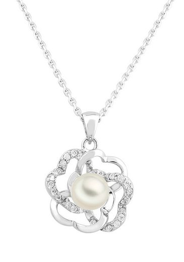 Bella Donna Jewels Schmuck-Set mit hochwertigem Perlen-Besatz