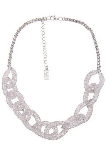 leslii Halskette mit funkelnden Strasssteinen