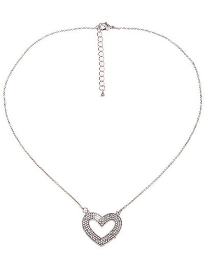 leslii Halskette mit funkelnden Details