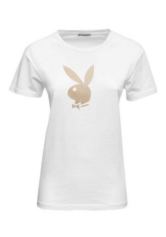 PLAYBOY Palaidinė apvalia iškirpte su Bunny-Mo...