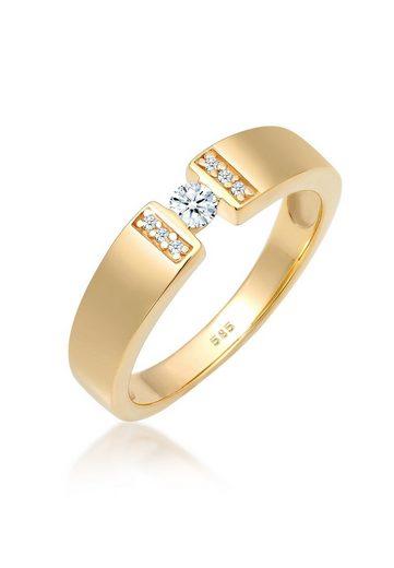 Diamore Diamantring »Verlobung Diamant 0.14 ct. 585 Gelbgold«
