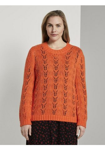 TOM TAILOR MY TRUE ME Stillpullover »Strickpullover su Zopfm...