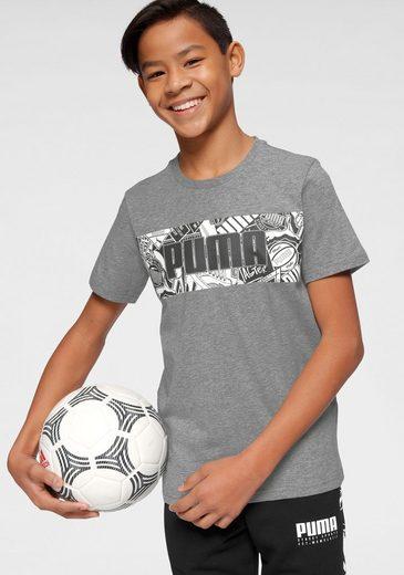 PUMA T-Shirt »ALPHA GRAPHIC TEE BOY«
