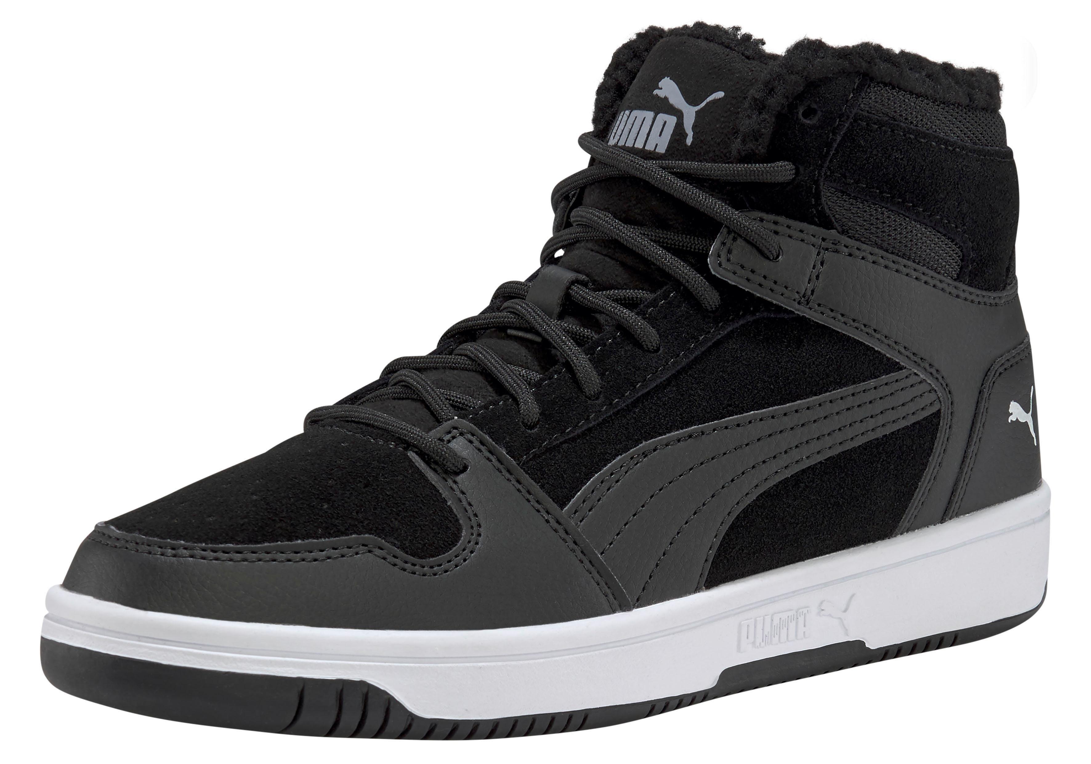 PUMA »Rebound Layup Fur SD JR« Sneaker, Wärmender