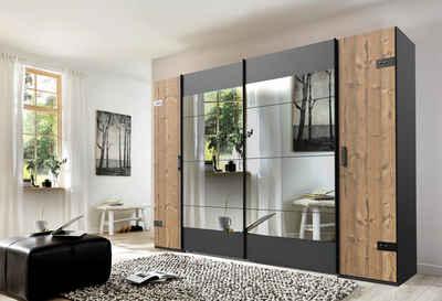 Wimex Schwebetürenschrank »Stockholm« mit Spiegel