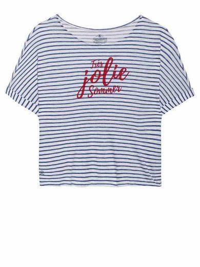 Herrlicher T-Shirt mit tollem Front-Motiv
