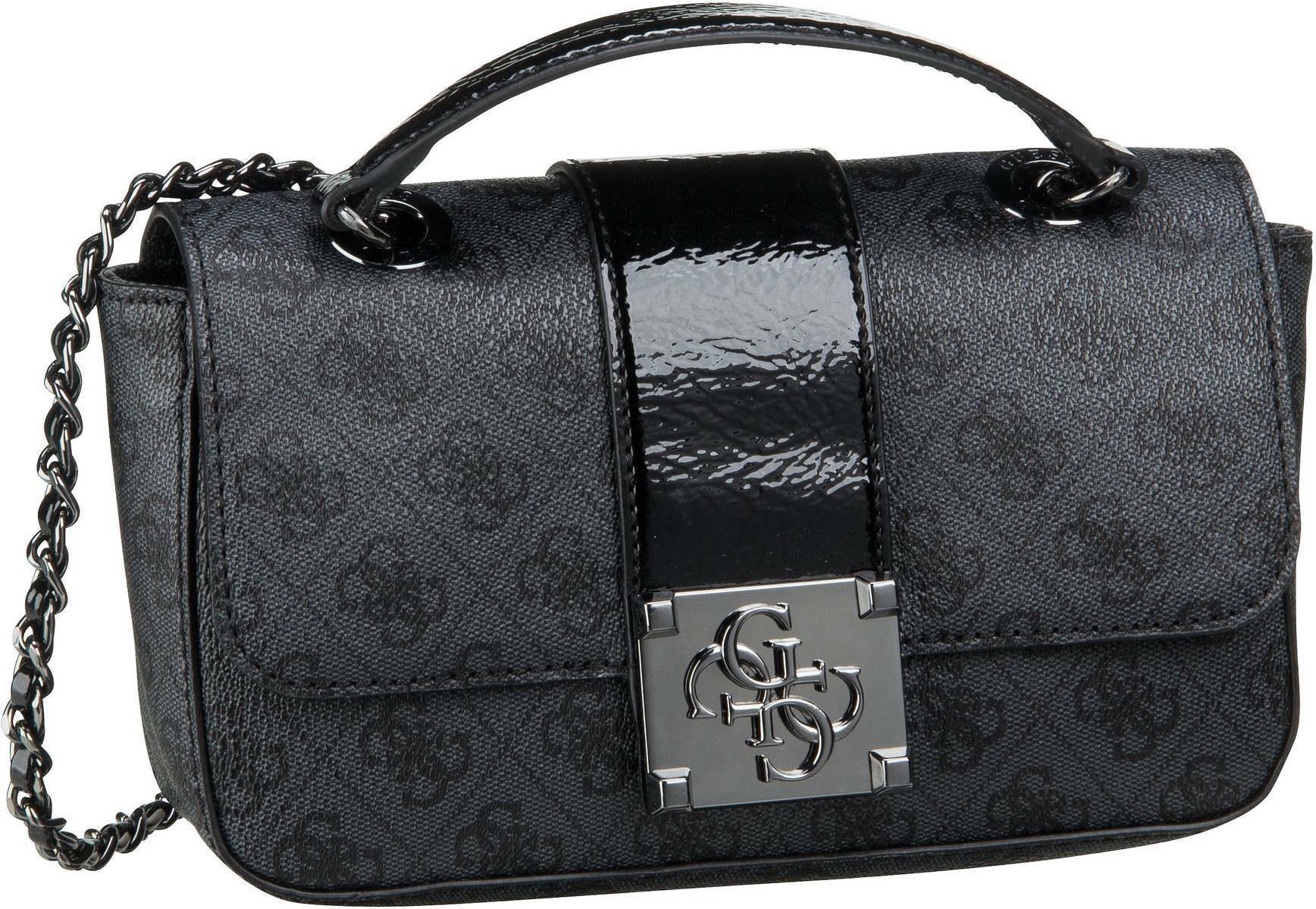 Guess Mini Bag »GUESS CHIC«, in glänzender Lack Optik mit Kettendetails