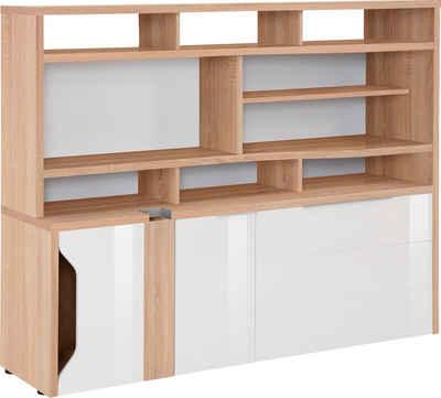 Maja Möbel Computerschrank »eDJUST MINIOFFICE 5508« Nur in Kombination mit  den eDJUST Schreibtischen 5504 oder 5507