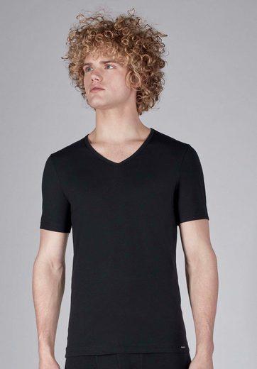 Skiny T-Shirt mit V-Ausschnitt »Shirt«