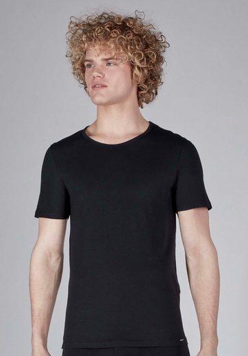 Skiny Unterhemd im 2er-Pack in modernem Design »Shirt«