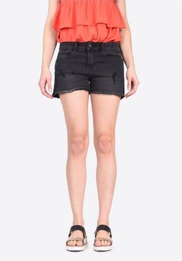 Kaporal Jeans-Shorts mit funkelnden Verzierungen