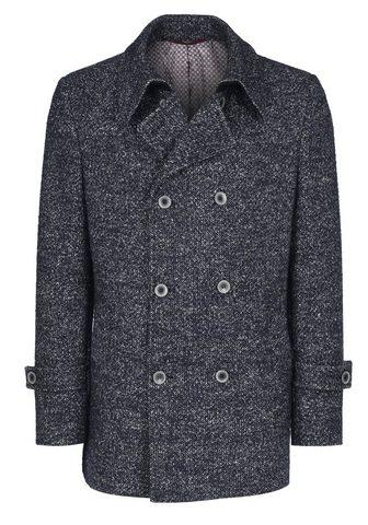 Пальто шерстяное с eleganter пуговицы