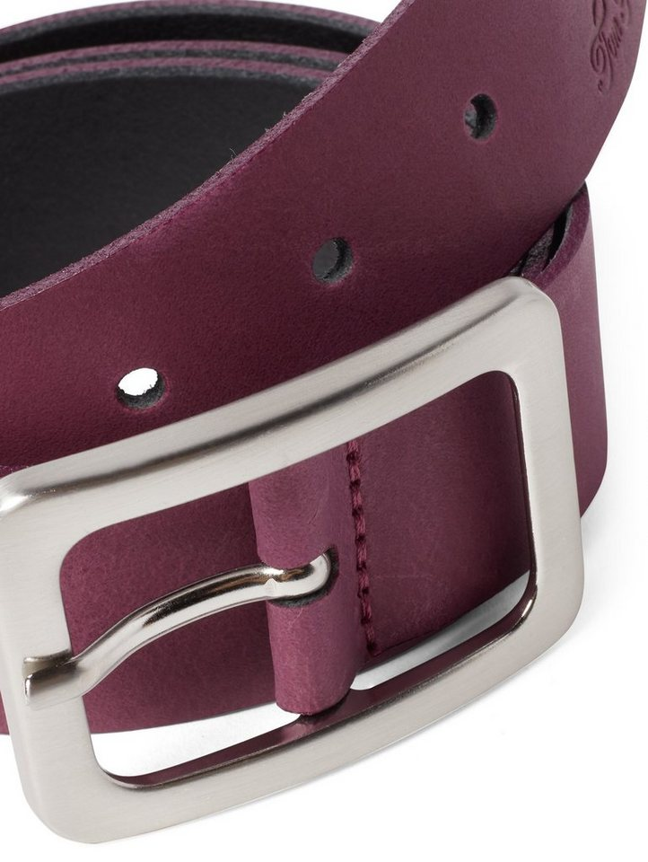 tom tailor -  Ledergürtel »klassischer Leder-Gürtel«