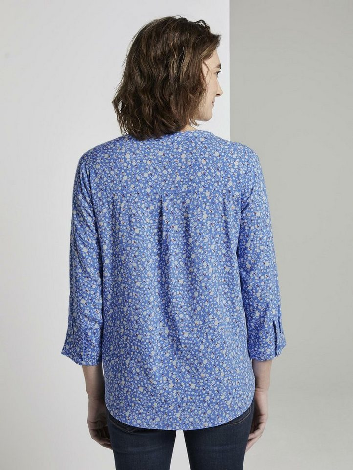 tom tailor -  Shirtbluse »Gemusterte Bluse«