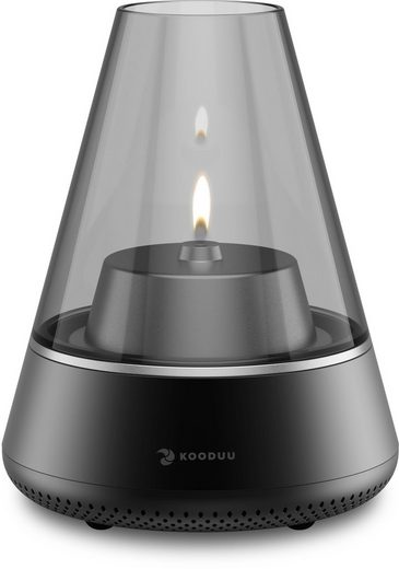 kooduu LED Windlicht »Nordic Light PRO«, Hygge-Gefühl mit Entertainment-Faktor