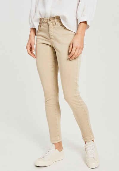 OPUS Skinny-fit-Jeans »Elma shadow« in schöner Washed-Optik