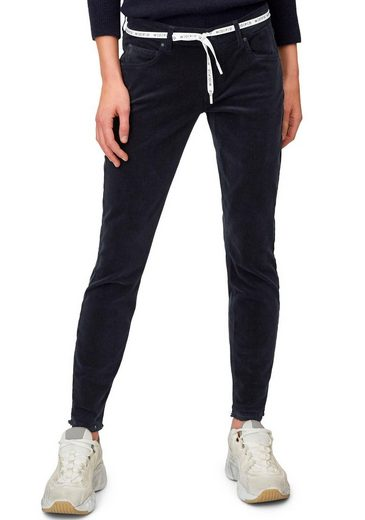 Marc O'Polo DENIM 5-Pocket-Hose aus weichem Babycord