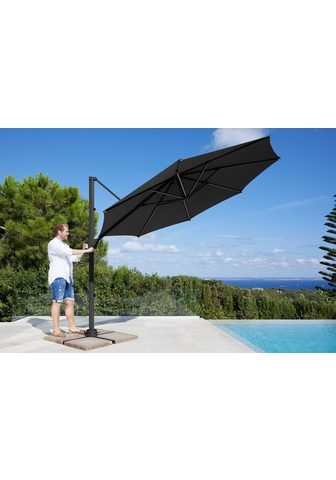 GARTEN GUT Skėtis »Paris« H/Ø: 260/270 cm su LED ...