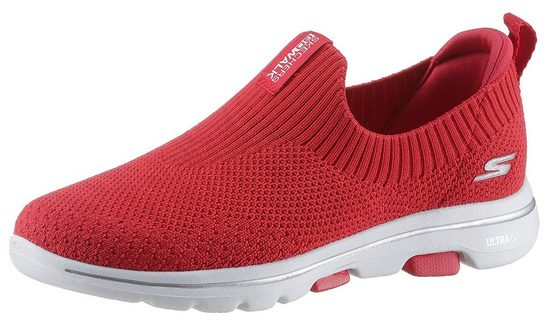 Skechers »Go Walk 5 - Trendy« Slip-On Sneaker Dämpfung durch Air Cooled Goga Mat